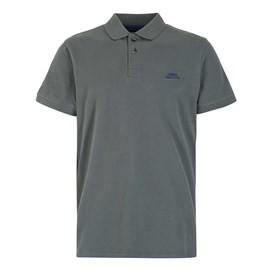 Manzarek Pique Polo Shirt Flint Stone