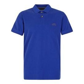 Manzarek Pique Polo Shirt Cobolt Blue