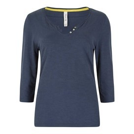 Petra 3/4 Sleeve T-Shirt Midnight