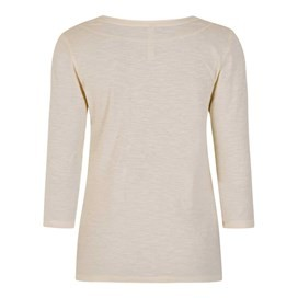 Petra 3/4 Sleeve T-Shirt Ivory