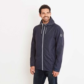 Prescott Fully Waterproof Hooded Jacket Blueberry