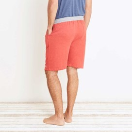 Hemel Jersey Lounge Shorts Dark Red