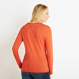 Aysun Long Sleeve Jersey Outfitter T-Shirt Clementine