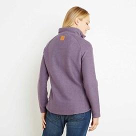 Constantine Print Trim 1/4 Zip Classic Macaroni Sweatshirt Dewberry