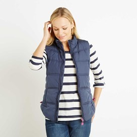 Susa Wadded Gilet Dark Navy
