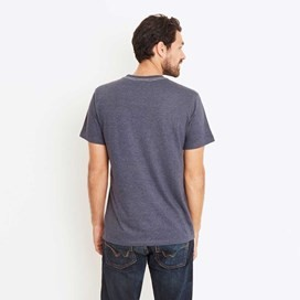 Fiddle Cornelli Stitch T-Shirt Blueberry Marl