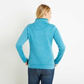 Vogel 1/4 Zip Soft Knit Fleece Blue Jay
