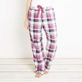 Salma Check Pyjama Bottom Sloeberry