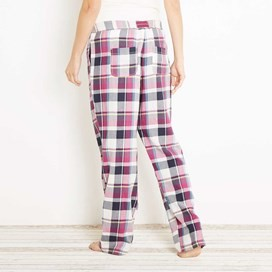Salma Check Pyjama Bottom Sloeberry
