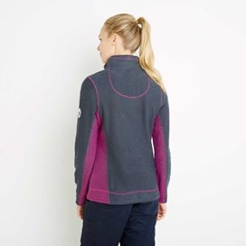 Emma 1/4 Zip Active Macaroni Sweatshirt Navy
