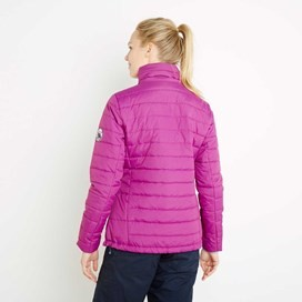 Tulu Ripstop Packaway Wadded Jacket Sloeberry