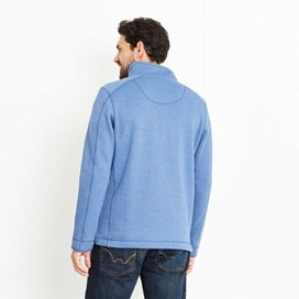 Geonre 1/4 Neck Zip Sweatshirt Federal Blue