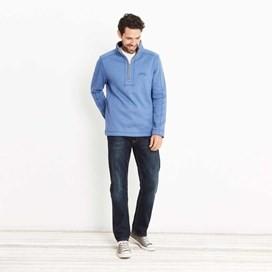 Geonre 1/4 Neck Zip Sweatshirt Federal Blue
