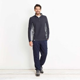 Siren 1/4 Zip Active Macaroni Sweatshirt Blueberry