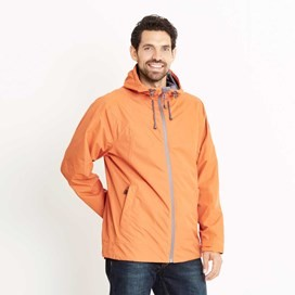 Prescott Fully Waterproof Hooded Jacket Carrot