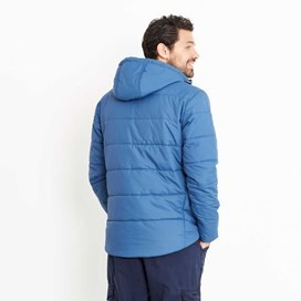 Metroplex Ripstop Wadded Packaway Jacket Ensign Blue
