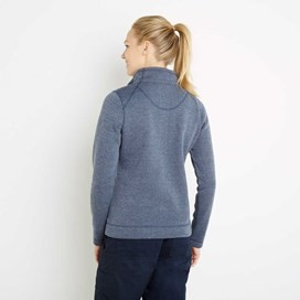 Iris Full Zip Soft Knit Jacket Dark Navy