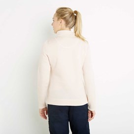 Margot 1/4 Zip Soft Knit Top Ivory