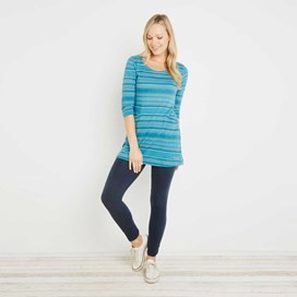 Arlo Fancy Stripe Tunic Blue Jay