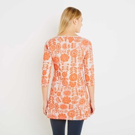 Haley Double Faced Jersey Tunic Clementine