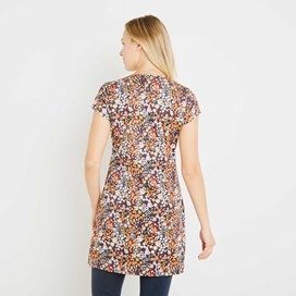 Alanis Printed Stretch Tunic Paprika