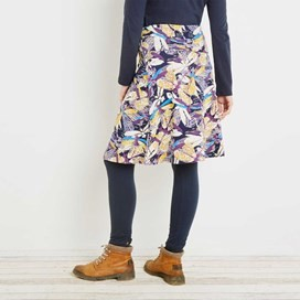 Malmo Printed Jersey Skirt Mulberry