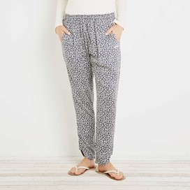 Nimbus Lightweight Printed Harem Trouser Midnight
