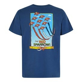 Red Sparrows Artist T-Shirt Ensign Blue