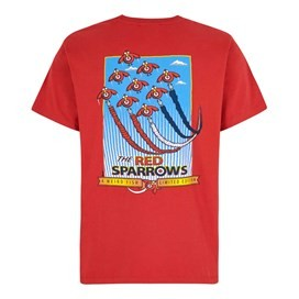 Red Sparrows Artist T-Shirt Dark Red