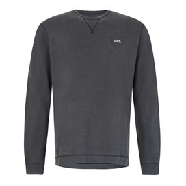 Trace Long Sleeve Crew Neck T-Shirt Black