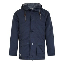 Michigan Lightly Padded Waterproof Jacket Blueberry