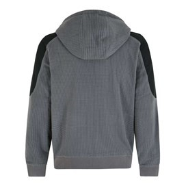 Huddleston 1/4 Zip Soft Knit Hoodie Cement