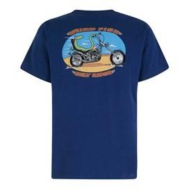 Eely Rider Artist T-Shirt Ensign Blue