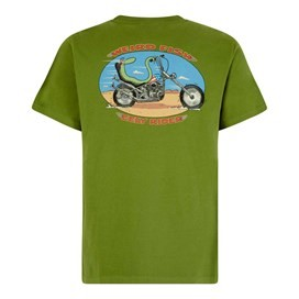 Eely Rider Artist T-Shirt Tarragon