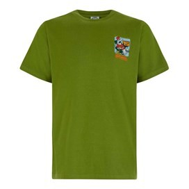 Crackered Artist T-Shirt Tarragon