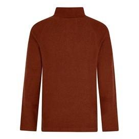 Helm 1/4 Zip Siera Knit Sweatshirt Burnt Henna