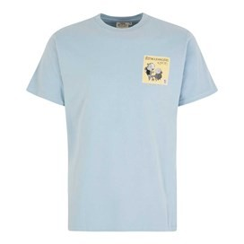 Fleetwood Mackerel Artist T-Shirt Blue Surf