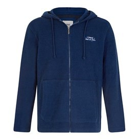 Beacon Full Zip Macaroni Hoodie Estate Blue