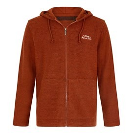 Beacon Full Zip Macaroni Hoodie Burnt Henna