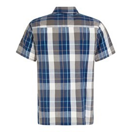 Farley Short Sleeve Check Shirt Flint Stone