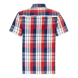 Farley Short Sleeve Check Shirt Estate Blue