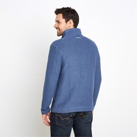 Sickle Full Zip Classic Macaroni Sweatshirt Ensign Blue