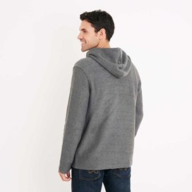 Beacon Full Zip Macaroni Hoodie Flint Stone