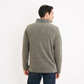 Hagan 1/4 Zip Microfleece Top Flint Stone