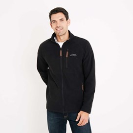 Hakan Microfleece Jacket Black