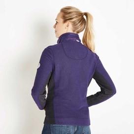 Emmie 1/4 Zip Active Macaroni Sweatshirt Dark Violet