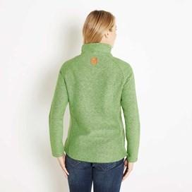 Constantine Print Trim 1/4 Zip Classic Macaroni Sweatshirt Kiwi