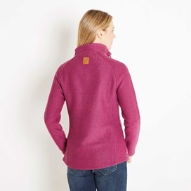 Constantine Print Trim 1/4 Zip Classic Macaroni Sweatshirt Sloeberry