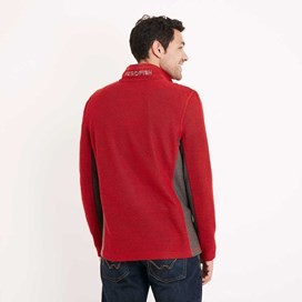Siren 1/4 Zip Active Macaroni Sweatshirt Tango Red