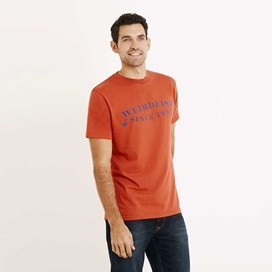 Anchor Graphic Print T-Shirt Tango Red